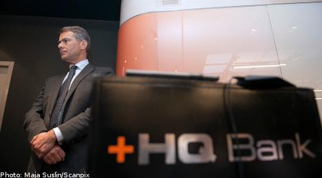 HQ Bank announces involuntary liquidation