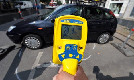 Police investigate radioactive waste found under Berlin street