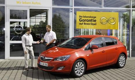 Opel offers 'lifetime' guarantee on cars