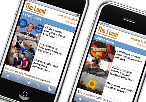 The Local launches new mobile site
