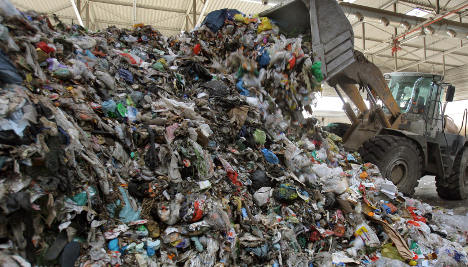 Brazil irked by illegal trash from Hamburg