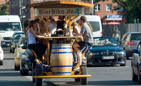 Cities consider ban on 'beer bike' tours