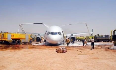 Report says pilot error caused Saudi freight crash