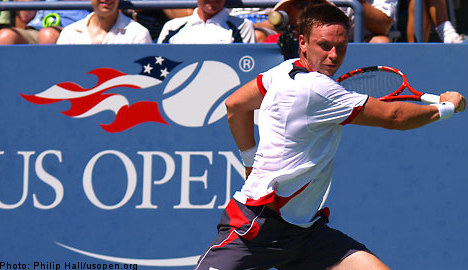 Söderling struggles out of US Open first round
