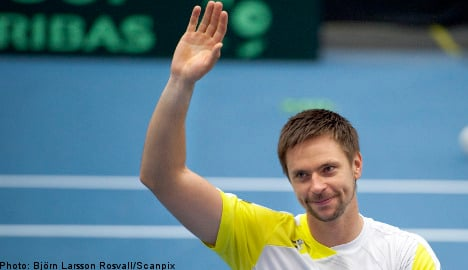Söderling win keeps Sweden in Davis Cup