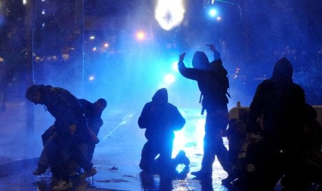 Hamburg street festival ends in rioting – again