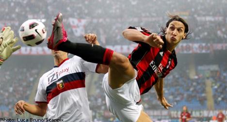 Ibrahimovic scores winner in Milan win