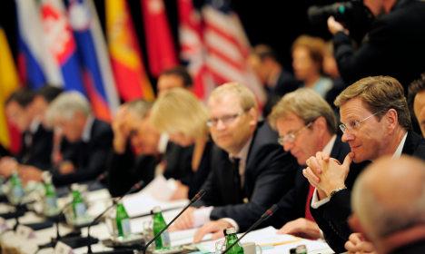 Westerwelle wants UN seat for disarmament