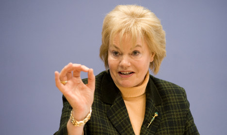 Steinbach to leave CDU leadership after WWII row