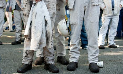 Steelworkers strike