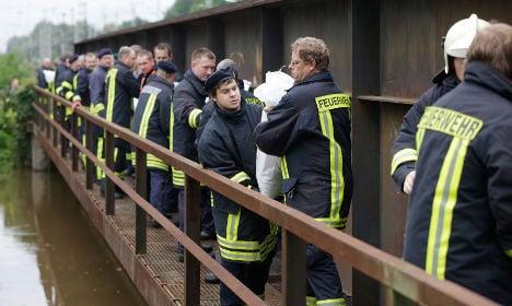 Brandenburg still fighting off floodwaters