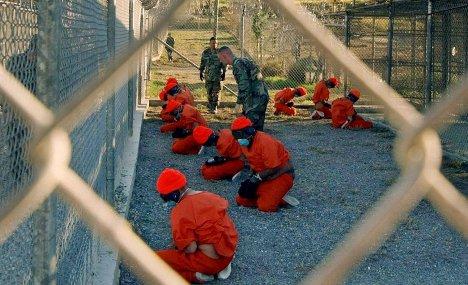 Ex-Gitmo inmates arrive