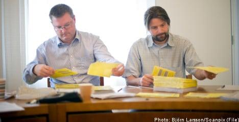 Ballot irregularities keep Sweden on edge