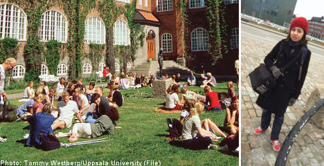 Homeless in Uppsala: a foreign student's tale