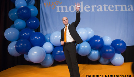 Reinfeldt calls victory, vows to shun far-right