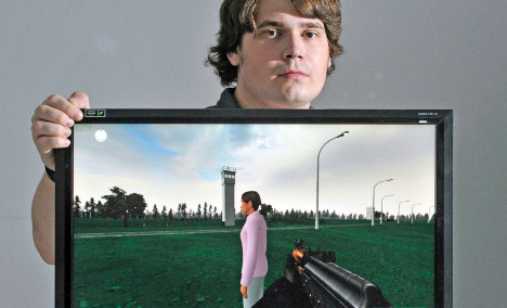 Video game simulates East German border terror