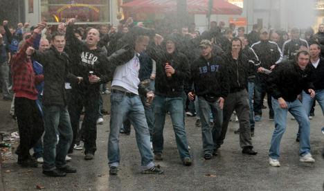 Hamburg football derby leaves 26 hurt