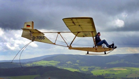 Heaven and Earth: Gliding and hiking in the Rhön
