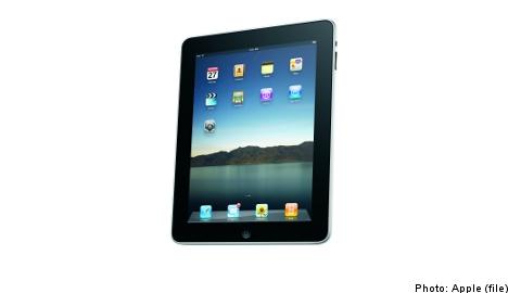 Apple's iPad set to land in Sweden in November