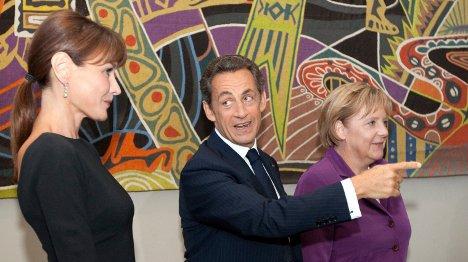 Merkel welcomes Bruni aid appeal to Bundestag