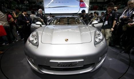 Porsche sets sales record thanks to China
