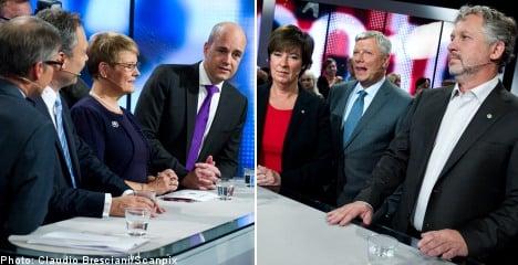 Tempers flare in final party leader debate