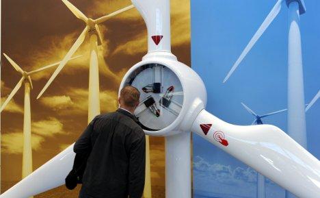 Wind energy trade fair opens in Husum