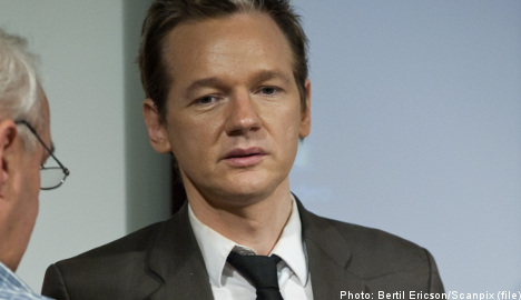Assange: 'I'm the only victim' in rape scandal