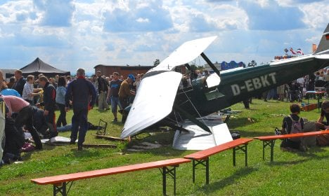 One dead, 38 injured in air show crash