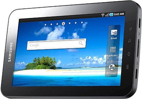 Samsung unveils wannabe iPad killer