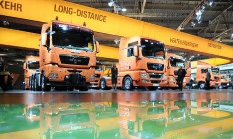'Monster' truck makers flaunt green credentials