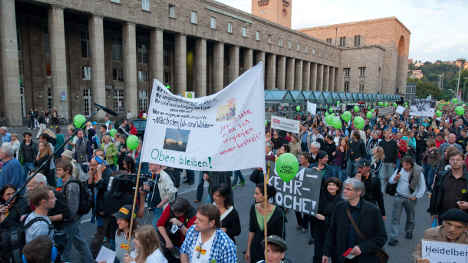 Activists stage biggest Stuttgart 21 protest yet