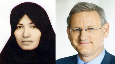 Bildt condemns Ashtiani stoning sentence