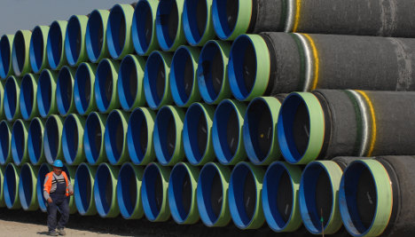 Fischer blasts rival Russian gas pipeline