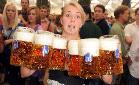 Beer mug brawling spikes at 200th anniversary Oktoberfest