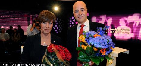Sahlin and Reinfeldt enter final sprint for lasting political glory
