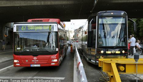 Stockholm acts to block drunken bus drivers