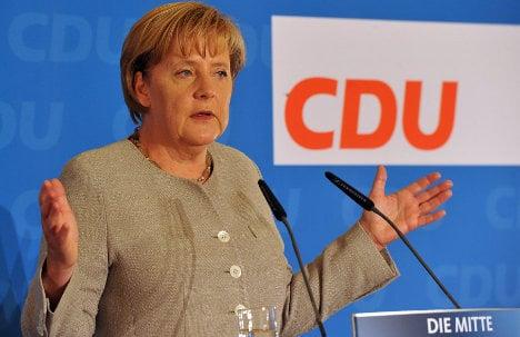 Germans consider Merkel's conservatives too conservative