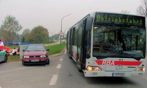 School bus crash leaves 40 children injured in Bavaria