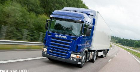 Profits jump for Swedish truckmaker Scania