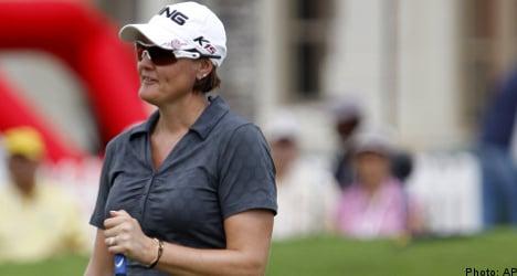 Sweden's Hjorth shares lead at Malaysian LPGA