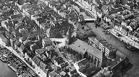 Architect seeks to rebuild historic core of Königsberg