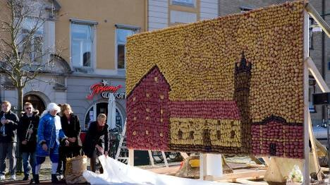 Swedish town makes art of the potato