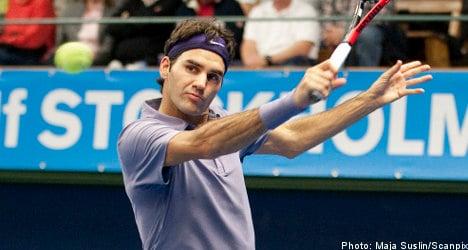 Federer faces Germany's Meyer in Stockholm final