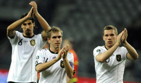 Die Mannschaft streaks ahead in Euro 2012 qualifiers
