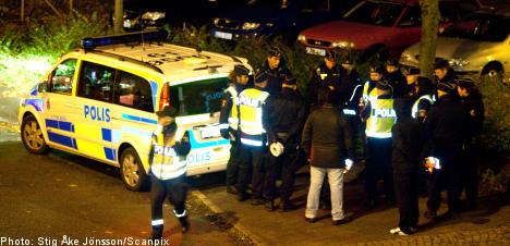 Malmö gunman keeps city on edge