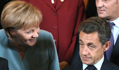 Merkel and Sarkozy to meet Medvedev ahead of Nato summit