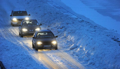 Drivers face crackdown on winter tyres