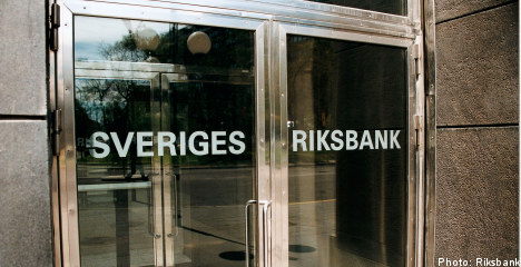 Sweden raises interest rate by 0.25 percent