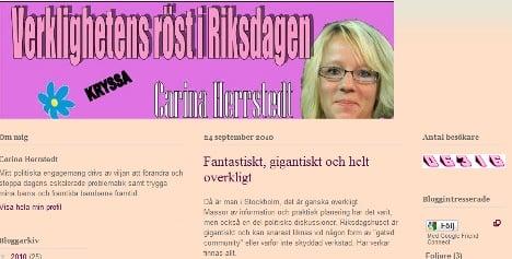 Top Sweden Democrat convicted of libel